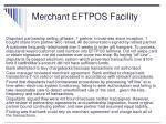 merchant eftpos facility