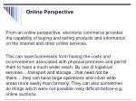 online perspective
