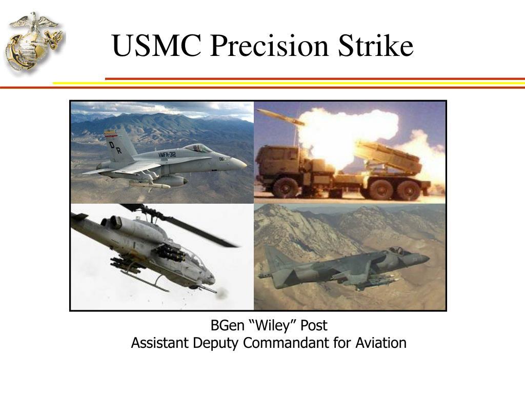 usmc precision strike l.
