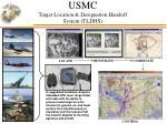 usmc target location designation handoff system tldhs