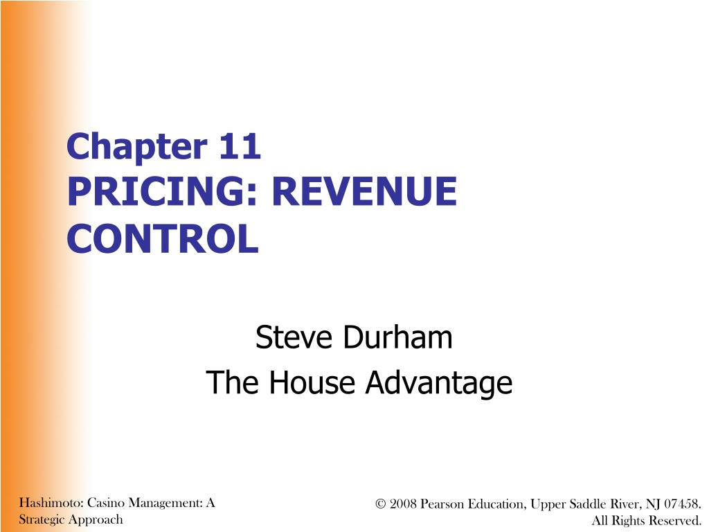 chapter 11 pricing revenue control l.
