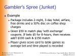 gambler s spree junket56