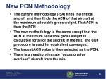new pcn methodology