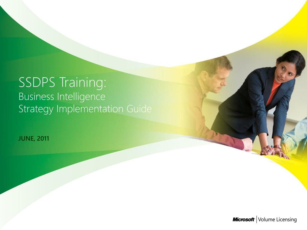 ssdps training business intelligence strategy implementation guide l.