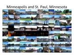 minneapolis and st paul minnesota