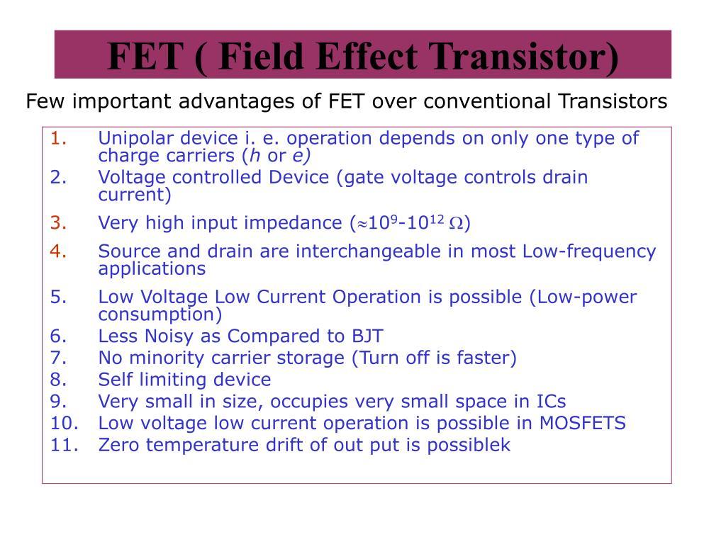 fet field effect transistor l.