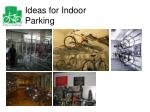 ideas for indoor parking