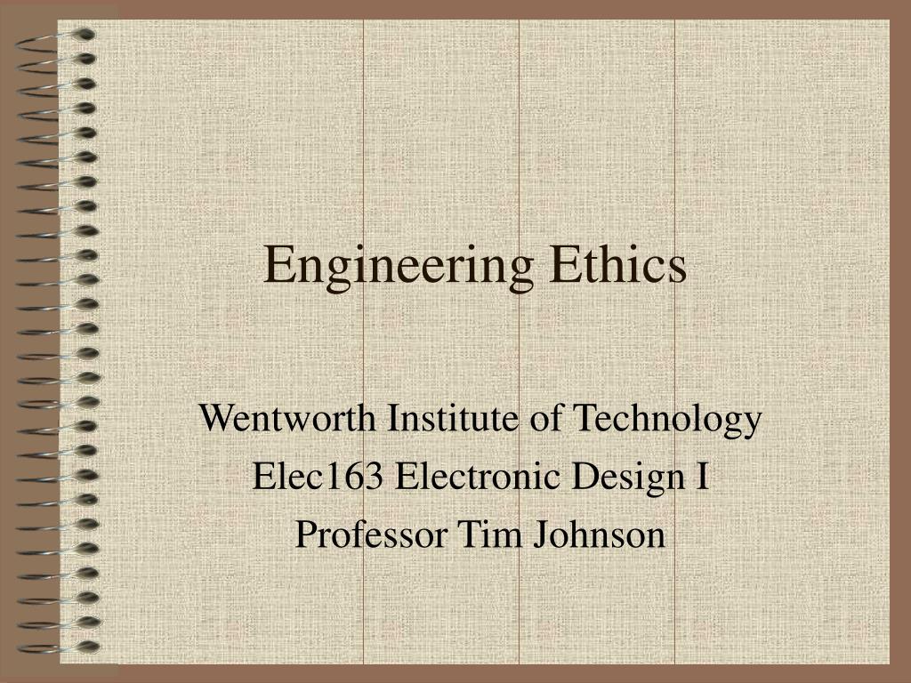 engineering ethics l.