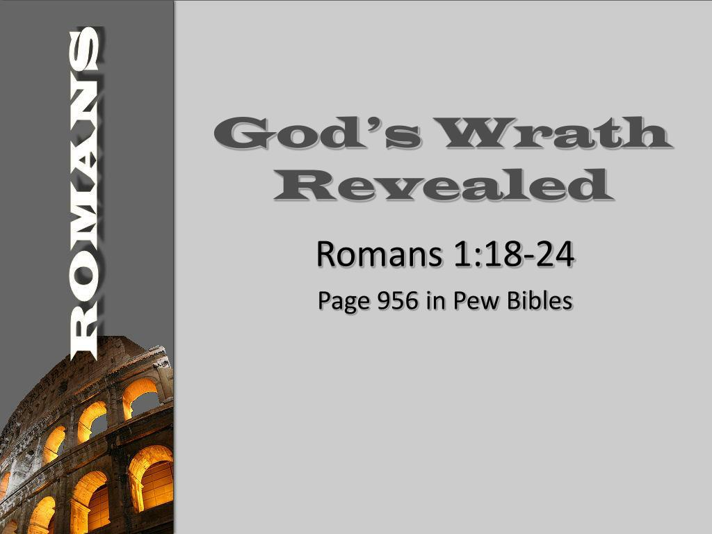 god s wrath revealed l.