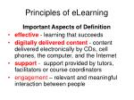 principles of elearning4