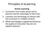 principles of elearning7
