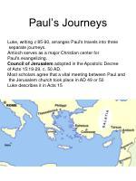 paul s journeys