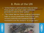 8 role of the un