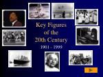 key figures of the 20th century