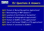 eu questions answers33