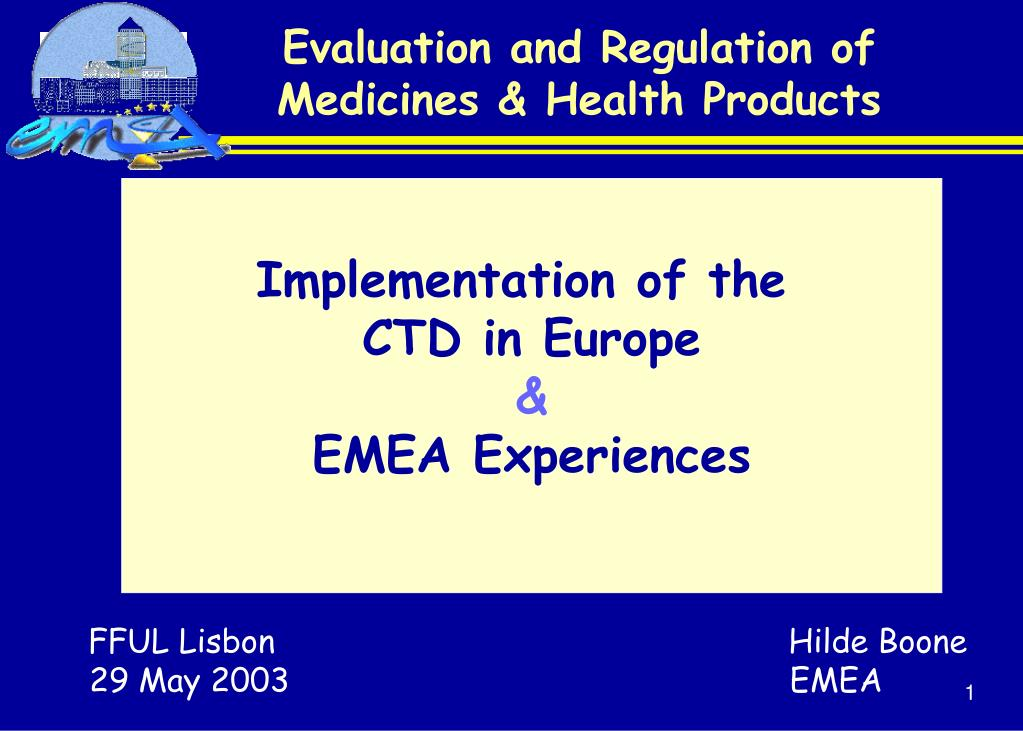 evaluation and regulation of medicines health products l.