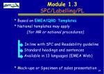 module 1 3 spc labelling pl