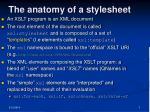 the anatomy of a stylesheet