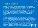 the icca toolkit