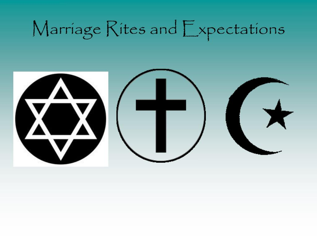 marriage rites and expectations l.