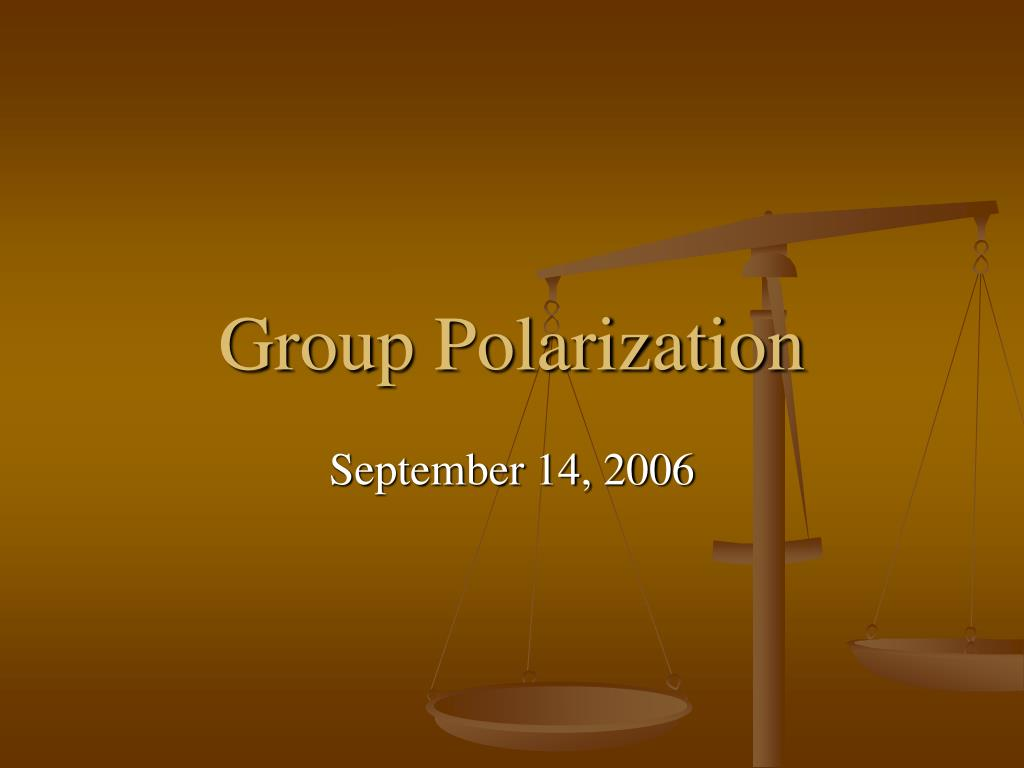 group polarization l.