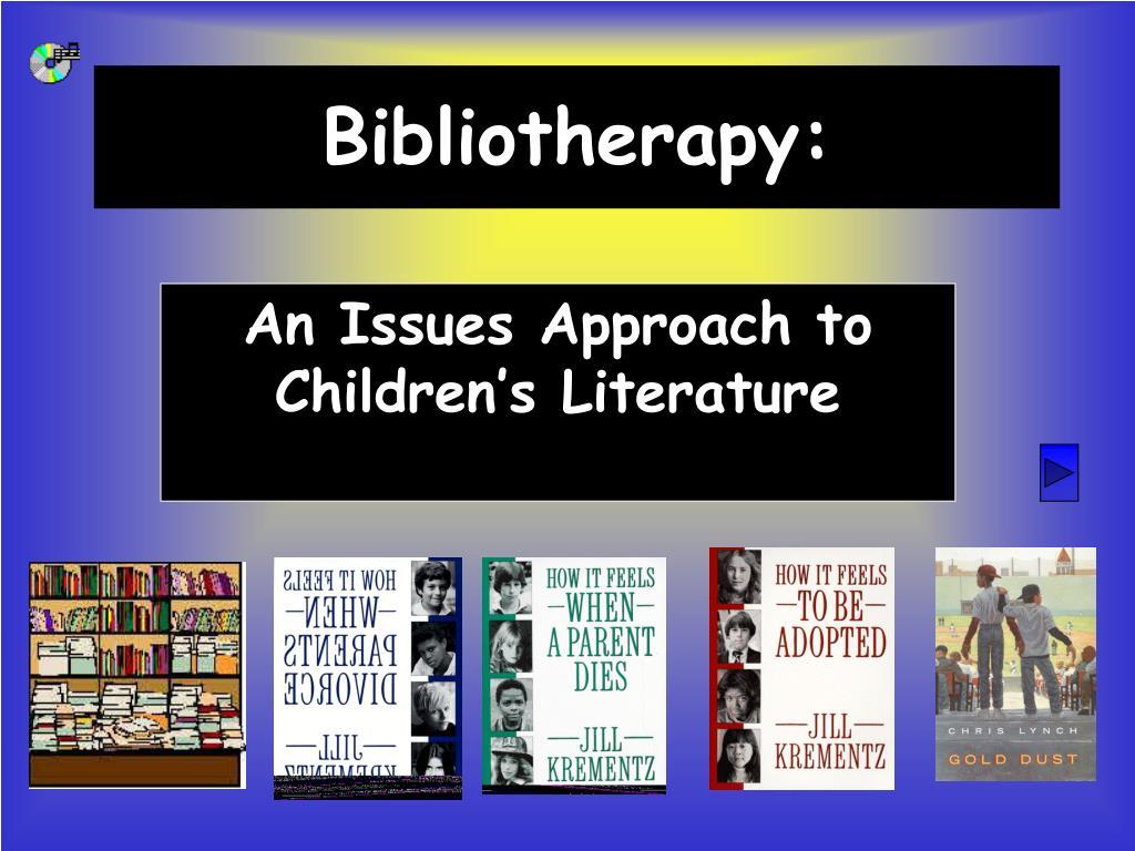 bibliotherapy l.