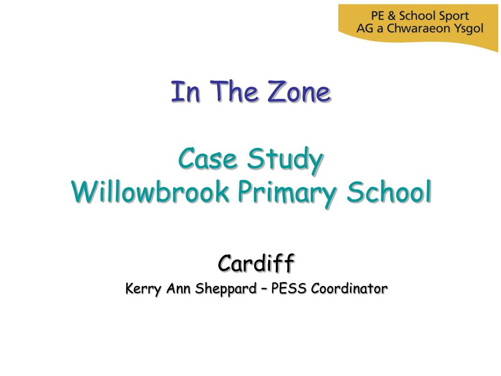 in the zone case study willowbrook primary school l.