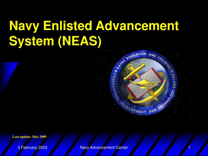 navy enlisted advancement system neas n.