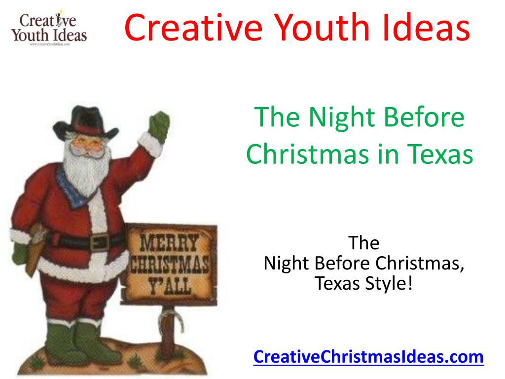 the night before christmas in texas l.