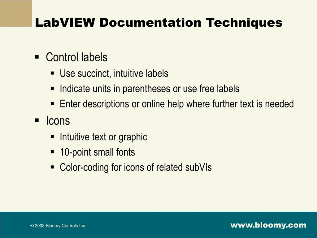 PPT - Five Techniques for Better LabVIEW Code PowerPoint