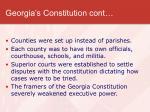 georgia s constitution cont