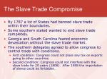 the slave trade compromise