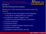 section 3 the first national government13