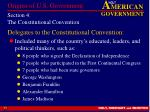 section 4 the constitutional convention17