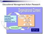 educational management action research