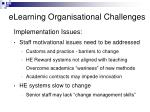 elearning organisational challenges10