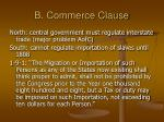 b commerce clause