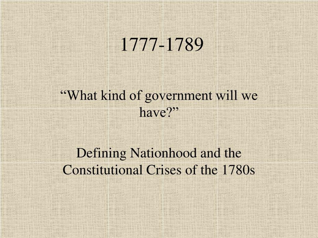1777 1789 l.