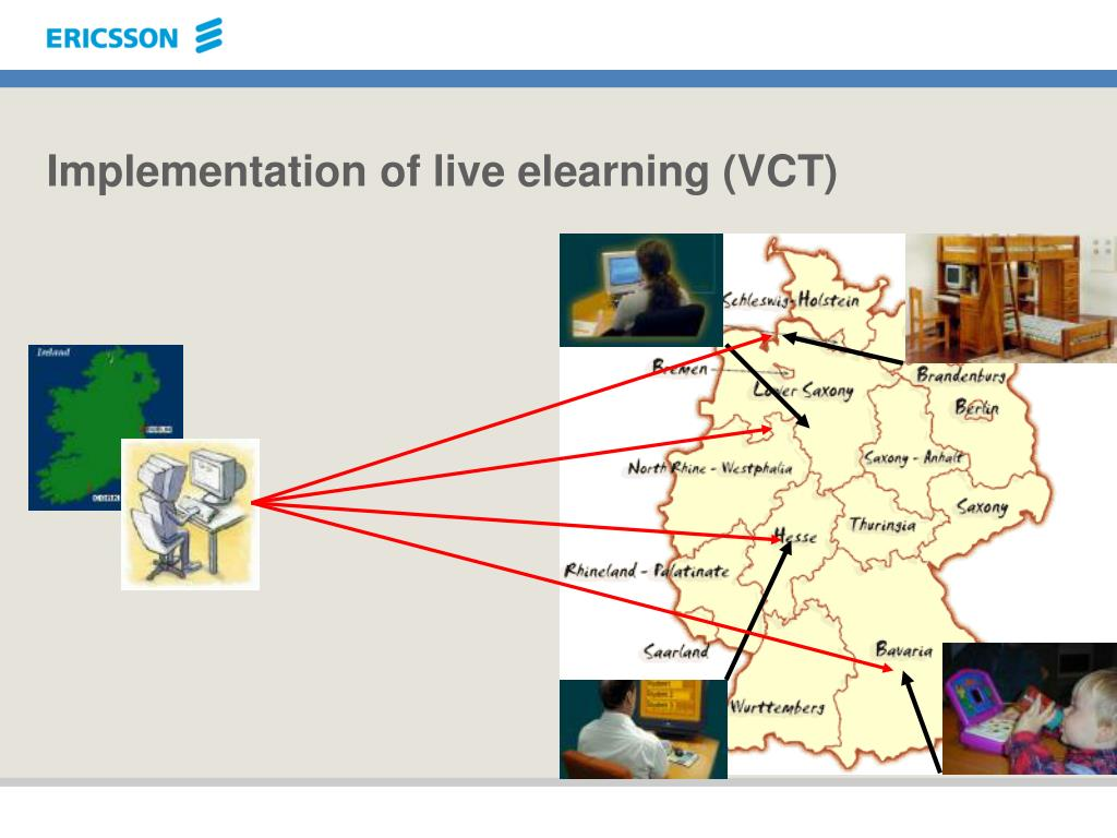 Implementation of live elearning (VCT)