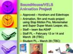 soundhouse vels animation project