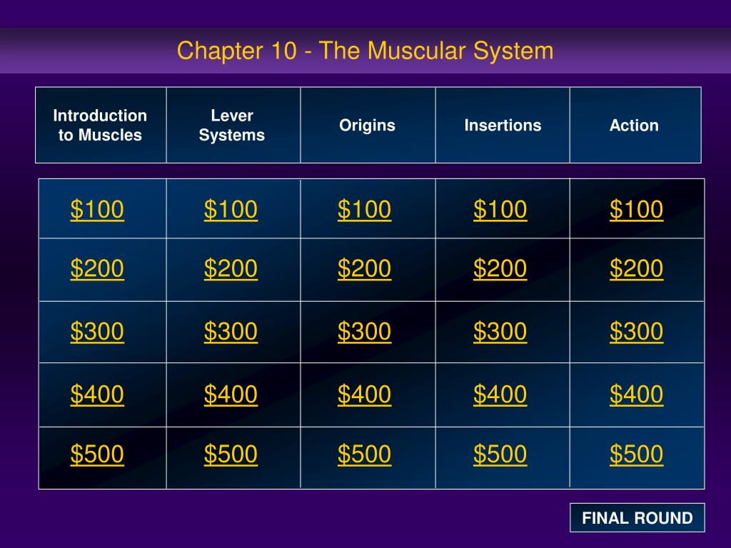 chapter 10 the muscular system l.