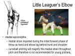 little leaguer s elbow