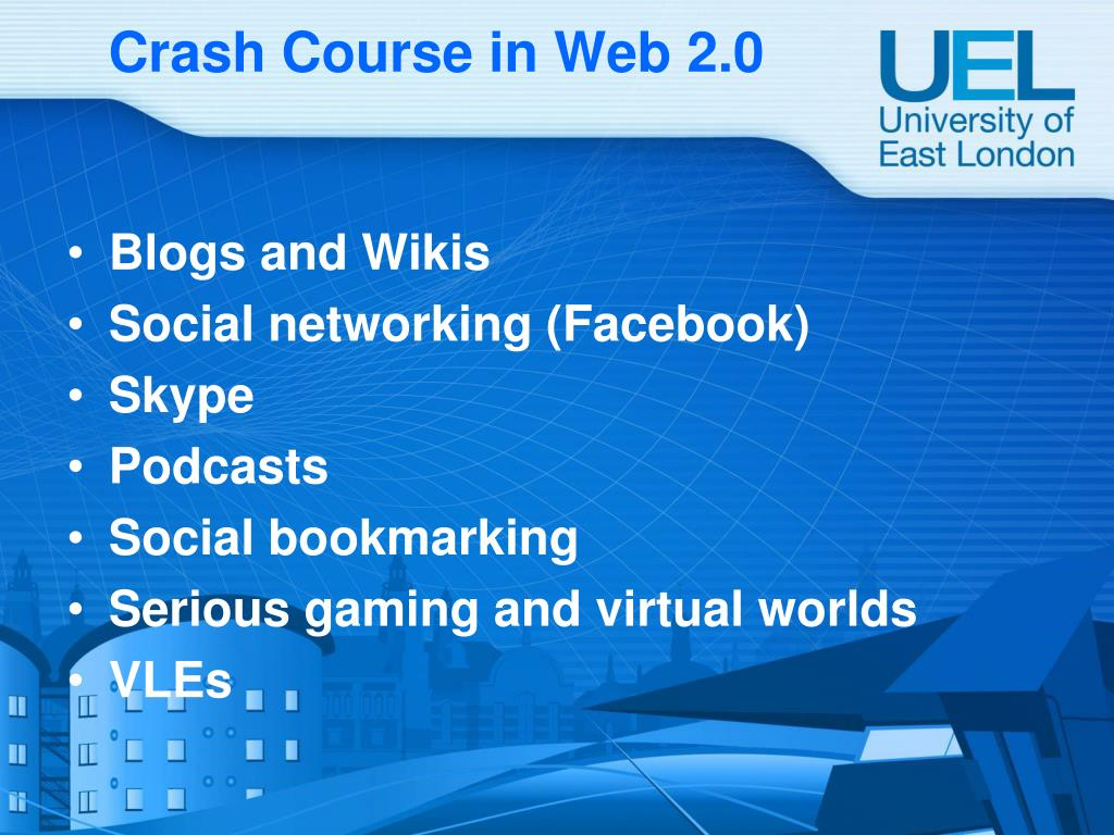 Crash Course in Web 2.0