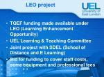 leo project