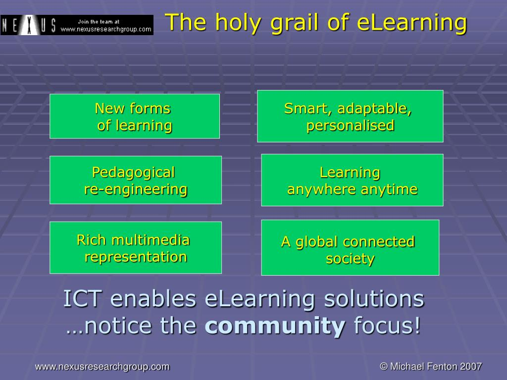 The holy grail of eLearning