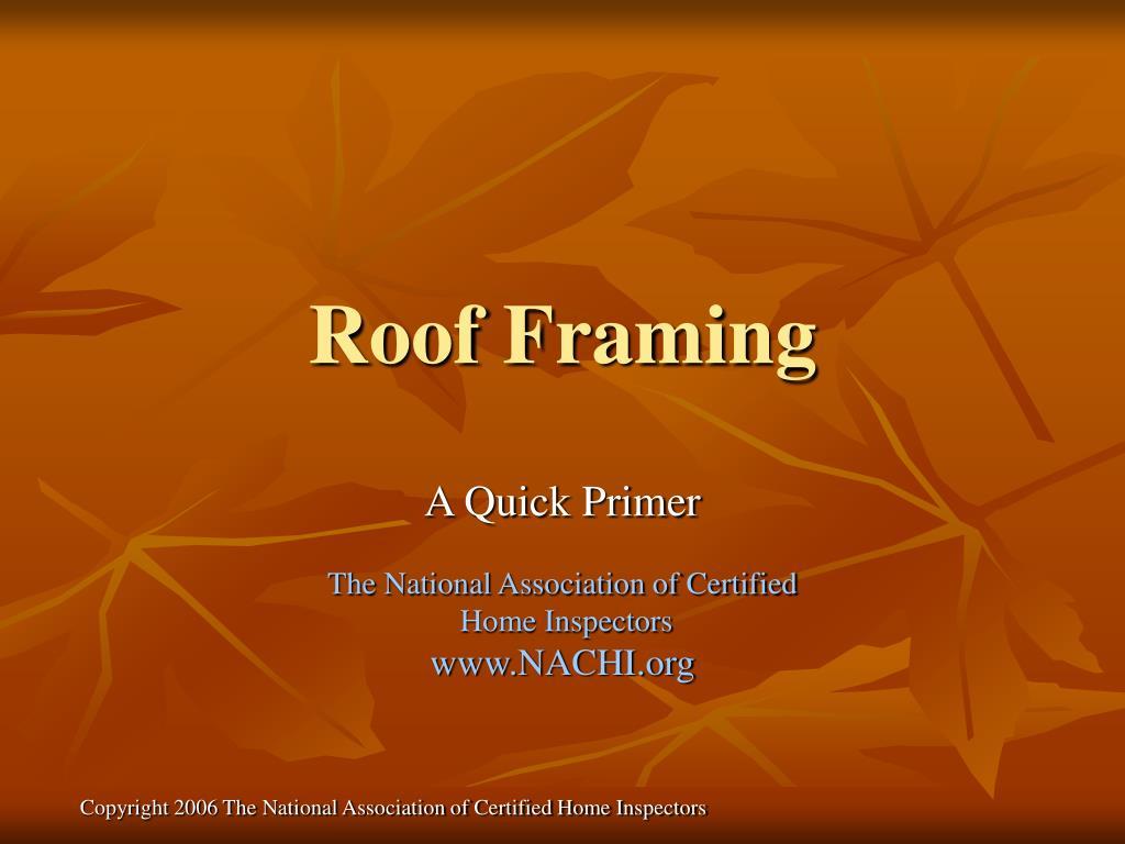 roof framing l.