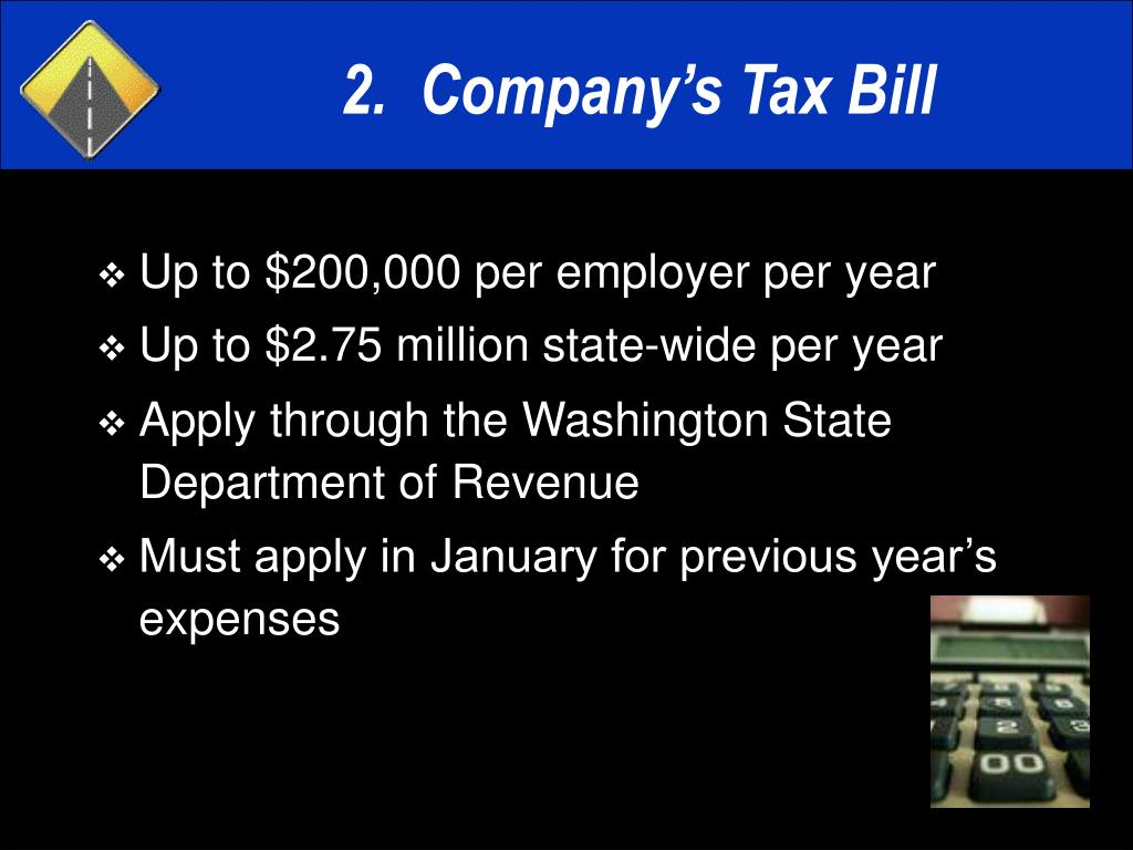 Up to $200,000 per employer per year