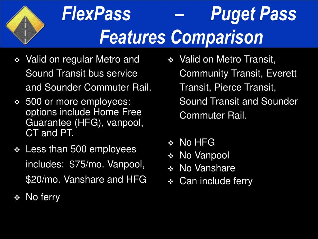 Valid on regular Metro and Sound Transit bus service and Sounder Commuter Rail.