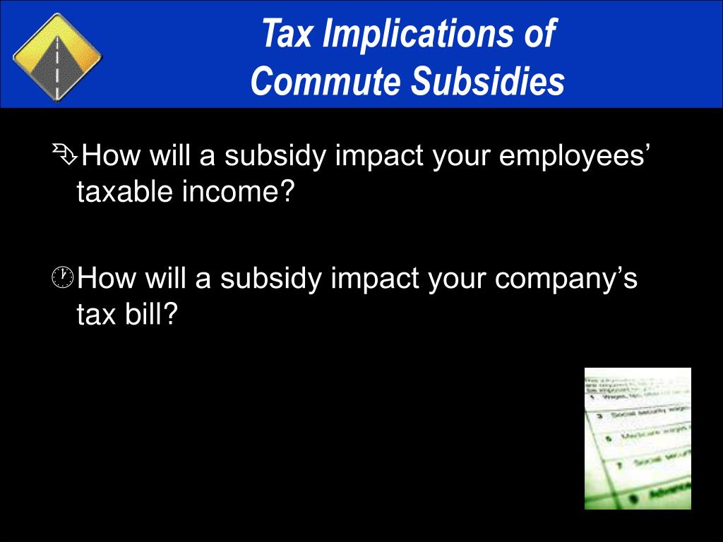 Tax Implications of