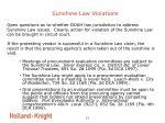 sunshine law violations